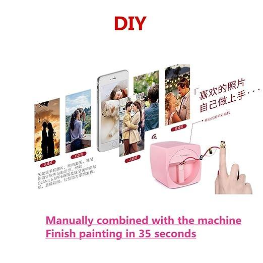 Impresora de uñas 3D portátil máquina de pintura de uñas ...