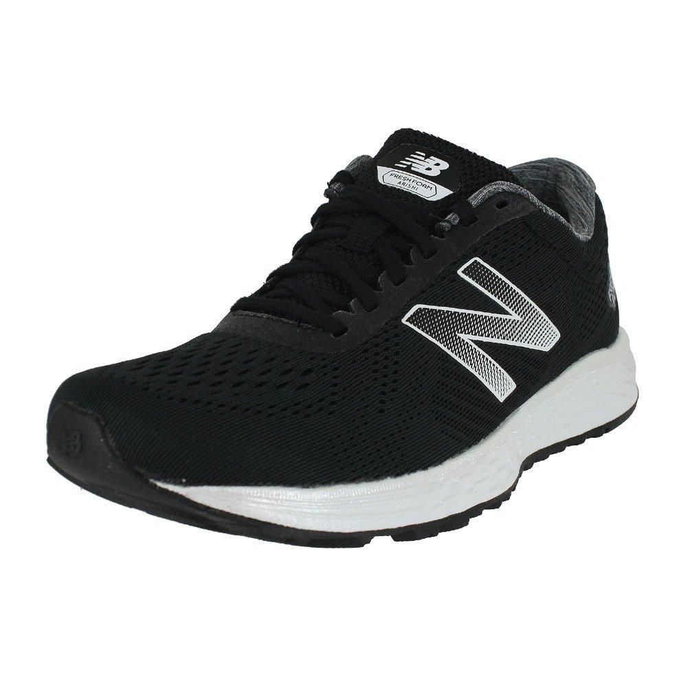 New Balance Women's Fresh Foam Arishi V1 Running Shoe B078HDFLGT 11.5 M US|Black/White