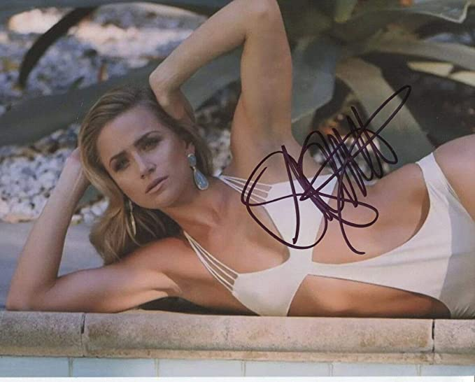 Shantel Vansanten Signed Autograph Sexy In White 10x8 Photo With