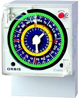 Orbis de Inodoro QRD 230 V Interruptor horario analógico Universal, OB050623