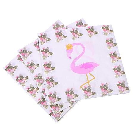 Monbedos - Toalla de papel de flamenco para fiestas de ...