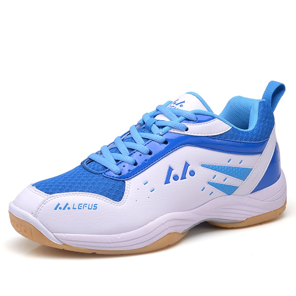 ASHION Men's Badminton Shoes Tennis Shoes Indoor Professional Training Running Sneakers
