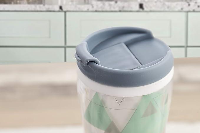 Quid Mint Vaso termo 0,45 L, Cuerpo doble pared, Bebidas frías y ...