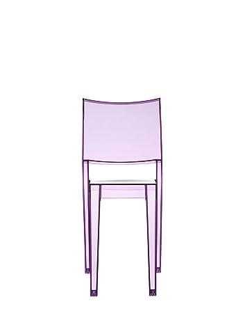 Kartell La Marie Stuhl, violett transparent