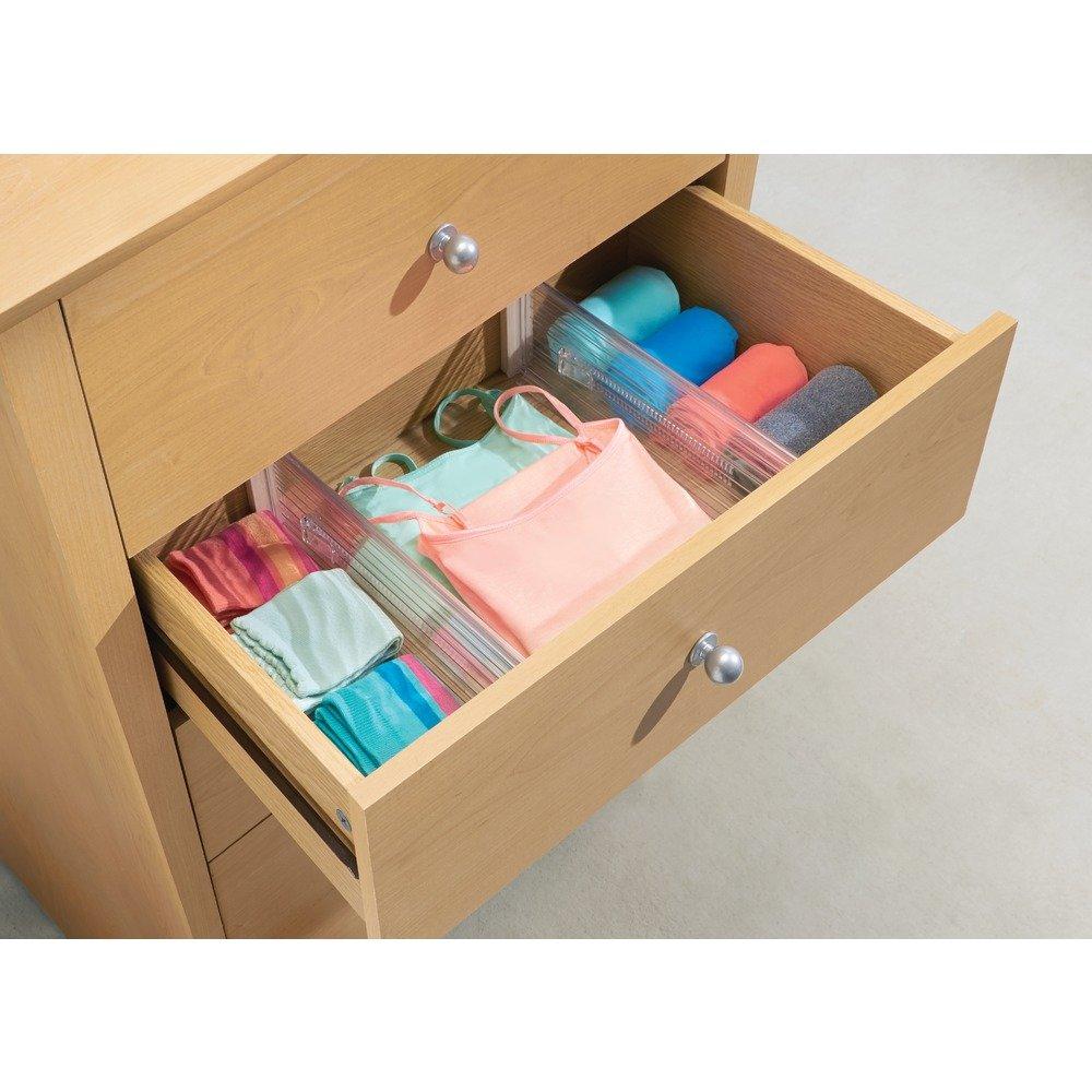 InterDesign Linus verstellbarer Schubladen Organizer, hohe ...