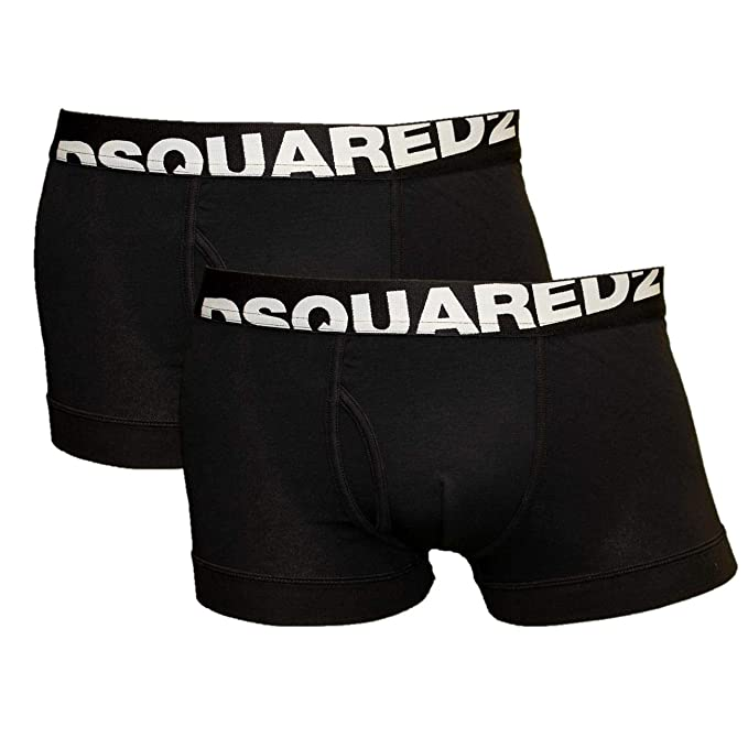 d333c14f6cb DSQUARED2 2er Pack Men s Boxer Shorts Pants Cotton Stretch Trunk