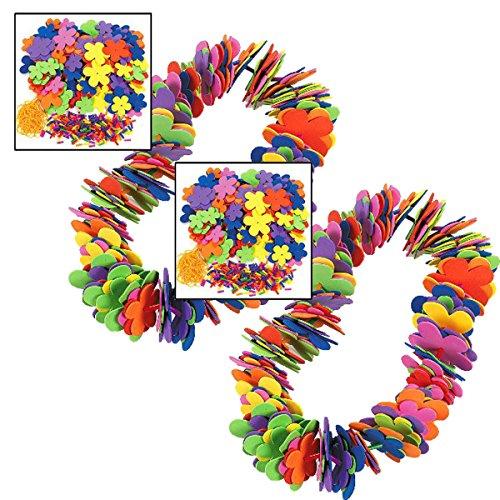 (Fun Express Foam Flower Leis Craft Kit (2 Dozen))