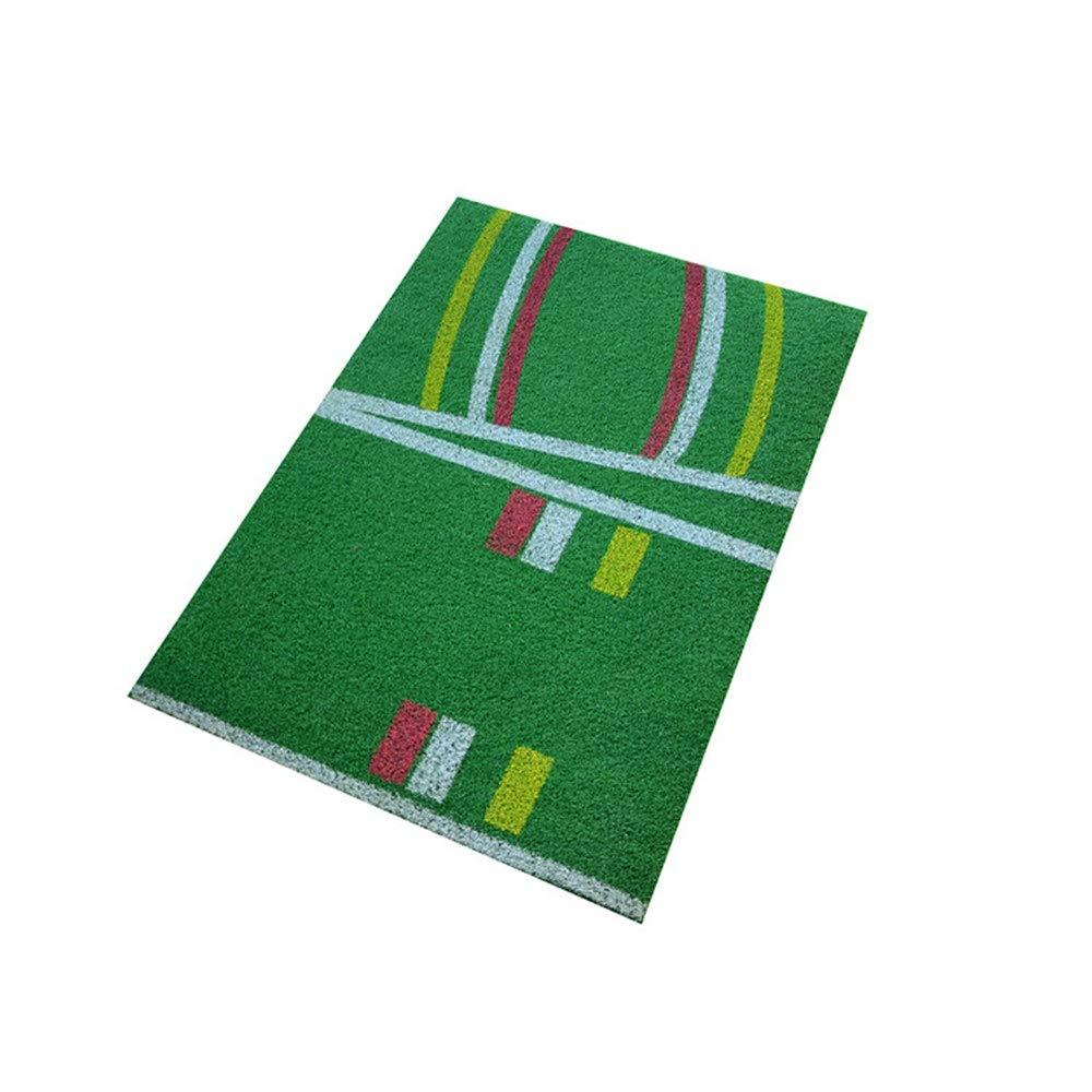 ゴルフスタンダードパッドスイングエクササイズマットグリーンズマットスイングパッド|ビスタプリントゴルフパッティングマット携帯用運転、欠け、訓練の援助 屋内 (色 : 緑, サイズ : 66*92cm) 66*92cm 緑 B07RTWMP71