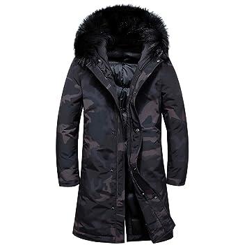Chaqueta de invierno para hombre pato blanco abajo parka / chaquetas de invierno para hombre /