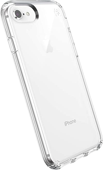 Speck Coque Presidio StayClear pour iPhone Se/iPhone 8/iPhone 7/iPhone 6S - Transparente