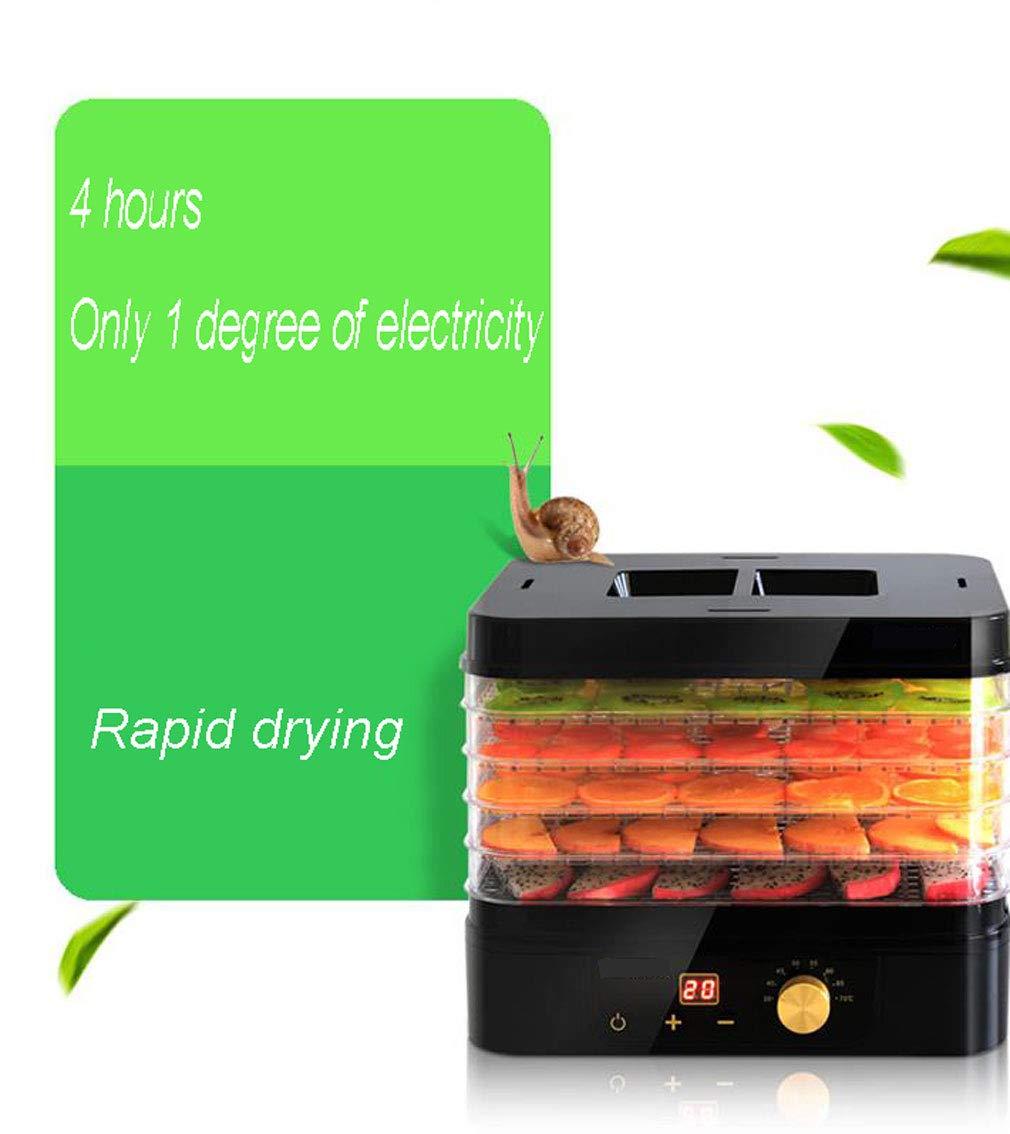 Carl Artbay Máquina de conservación de Alimentos, Secador de la Fruta, pequeño secador de múltiples Funciones de la Fruta del hogar Que se Seca Elegante ...
