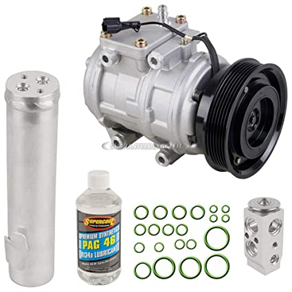 Amazon.com: AC Compressor w/A/C Repair Kit For Hyundai Tucson and Kia Sportage - BuyAutoParts 60-81182RK NEW: Automotive
