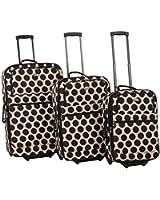 American Flyer Panda 3-Piece Luggage Set
