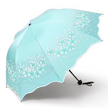 Anti-uv Impermeable Protección Solar Doble Uso Paraguas Plegable ,Impacto De Tela Plegable De