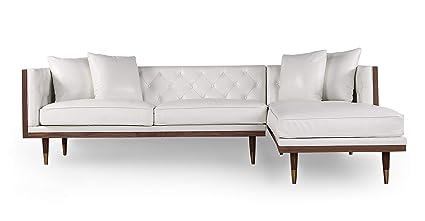 Amazon.com: Kardiel Midcentury Modern Woodrow Neo Sofa ...
