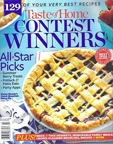 TASTE OF HOME CONTEST WINNERS [Single Issue] Magazine 2014