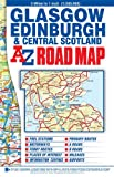 img - for Glasgow Edinburgh & Central Scotland 1:200K A-Z (A-Z Road Map) book / textbook / text book