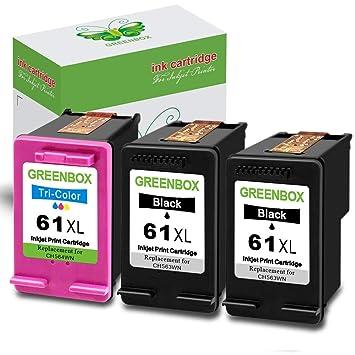 Amazon.com: GreenBox® Cartuchos de tinta remanufacturados ...