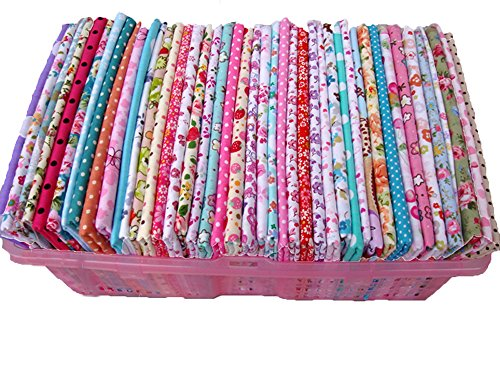 byy-50-piece-cotton-no-repeat-design-quilting-patchwork-fabric-79-x-99-inch