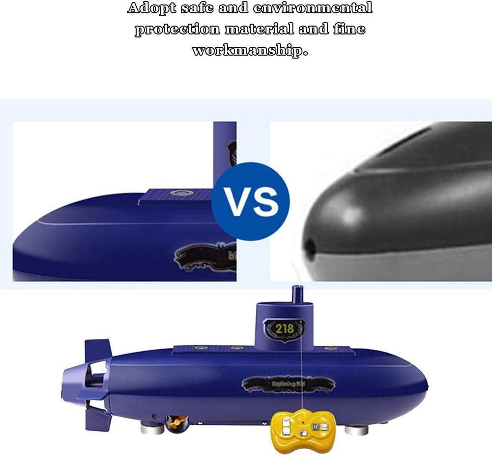 Mini RC Submarine Control remoto Modelo de submarino Toy Diving Boat Ship Toy Experimento educativo Juguetes Set