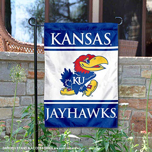 (College Flags and Banners Co. Kansas Jayhawks Garden Flag )