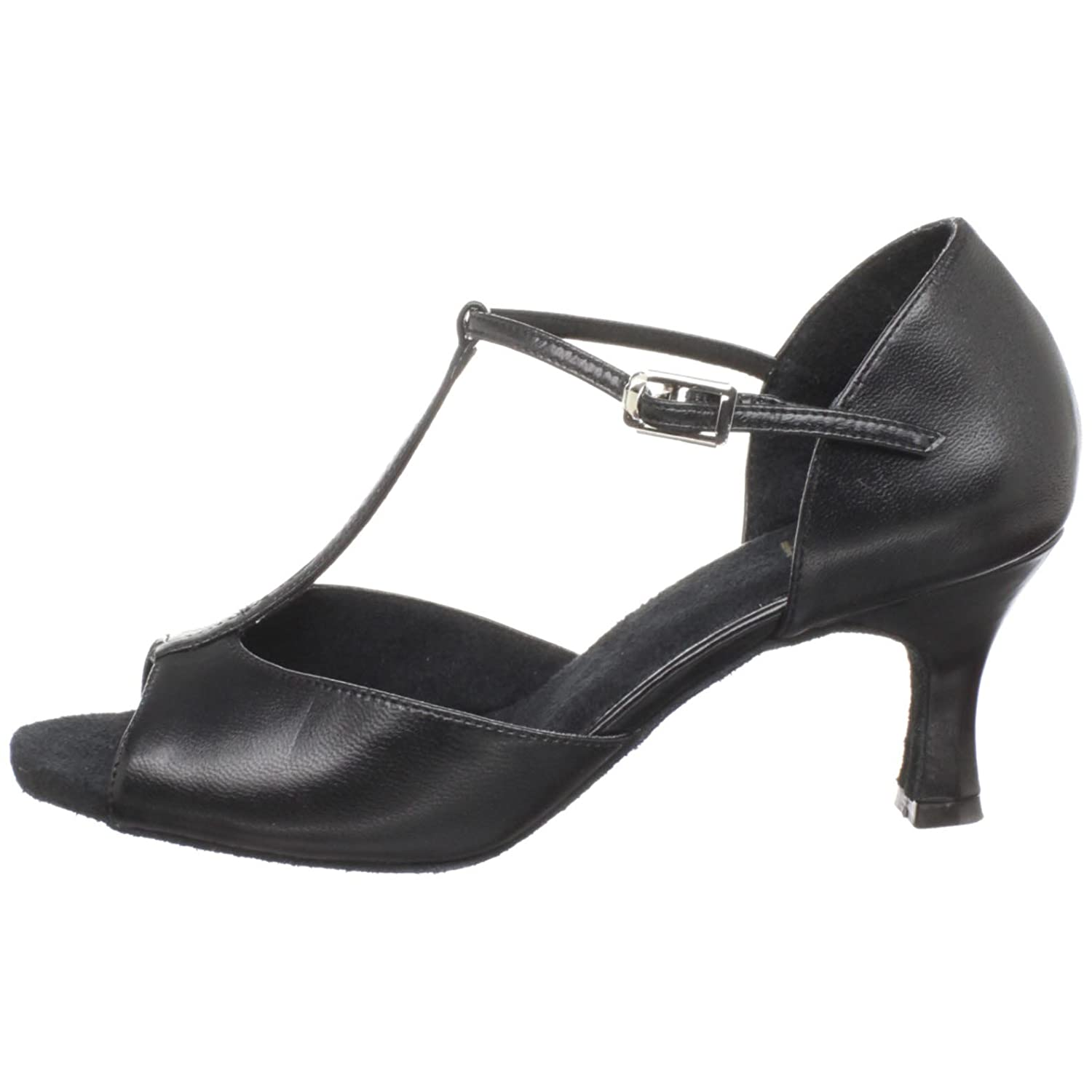 Bloch Dance Woherren Woherren Woherren Illeana Leather Latin Salsa Ballroom Competition Dance schuhe a78364
