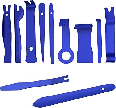 5Pc Trim /& Moulding Removal Kit Set Non-Scratch Plastic Dashboard Car Door Panel