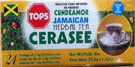 Amazon com : Jamaican Cerasee Tea Tops : Grocery & Gourmet Food