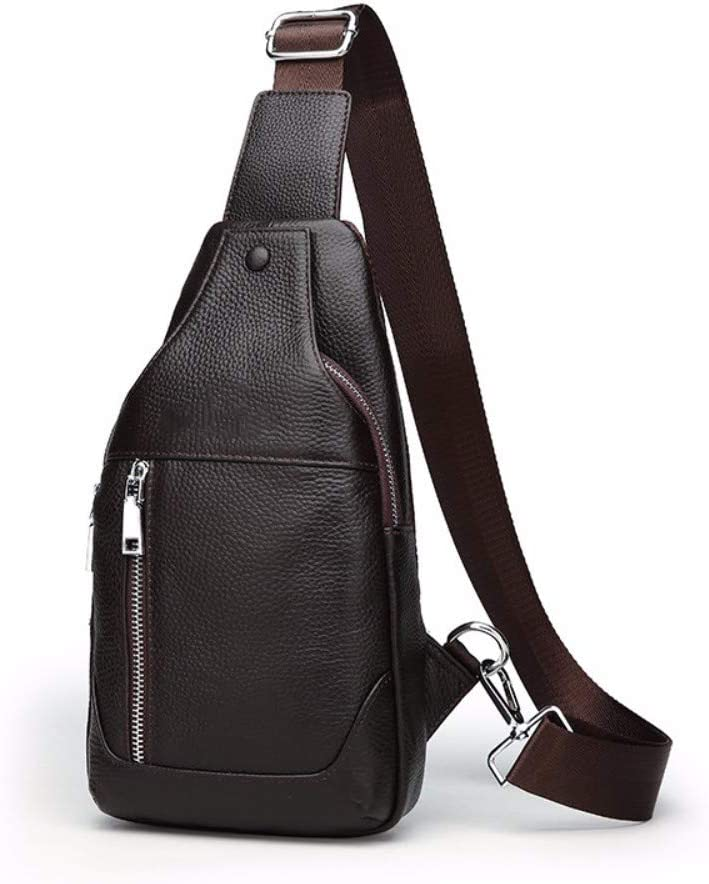 NDFSE-Herrentaschen Brassiere Mens Slant Bag Recreational Sports Backpack Mens Single Shoulder Bag Large Capacity