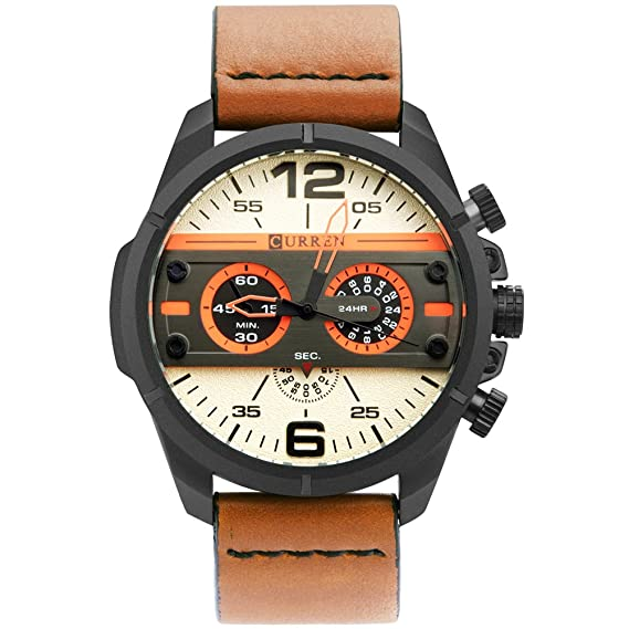 Reloj de pulsera para hombre, de la marca Randon, de diseño militar: Amazon.es: Relojes