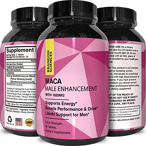 Maca Powder Tablets Tongkat Extract product image