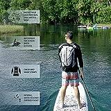 geckobrands Paddler 30L Waterproof Backpack