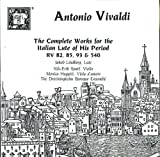 Vivaldi: Complete Works For Baroque Italian Lute