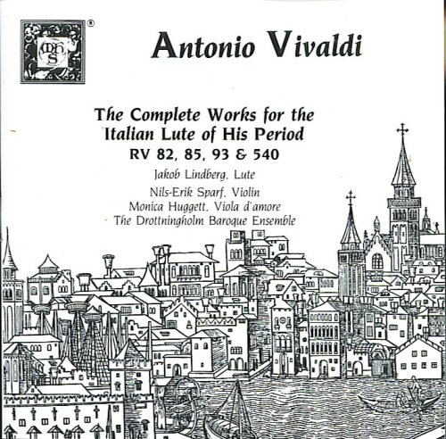 Vivaldi: Complete Works For Baroque Italian Lute by Musical Heritage Society