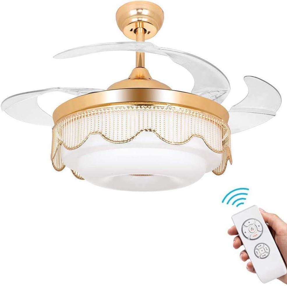 YZPFSD Ventilador de Techo Invisible Lámpara Ventiladores de Techo ...