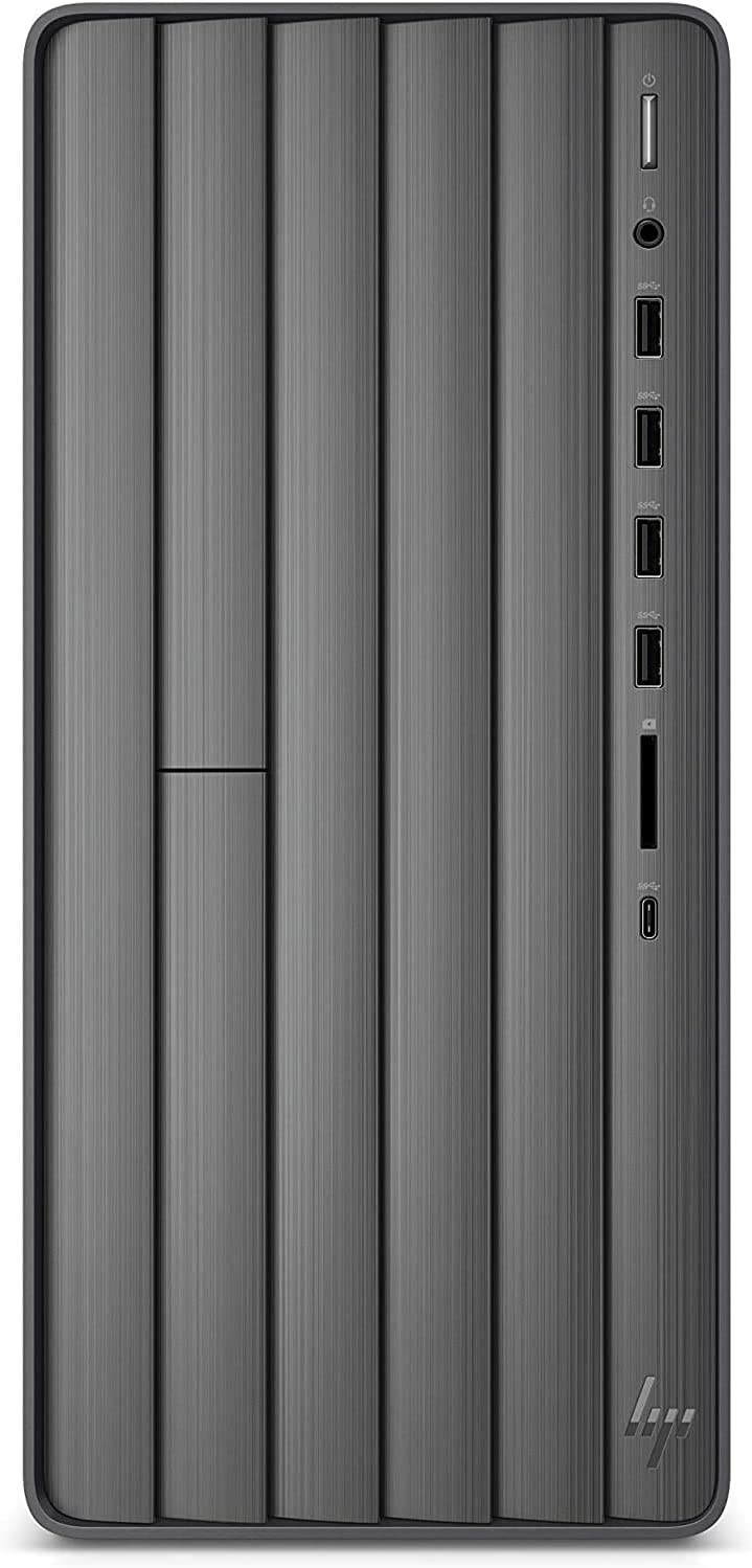 CUK Envy TE01 Business Desktop (Intel Core i9, 32GB RAM, 512GB NVMe SSD + 1TB HDD, DVD-RW, AC Wireless, Bluetooth, Windows 10 Pro) Professional PC Tower Computer (Made_by_HP)