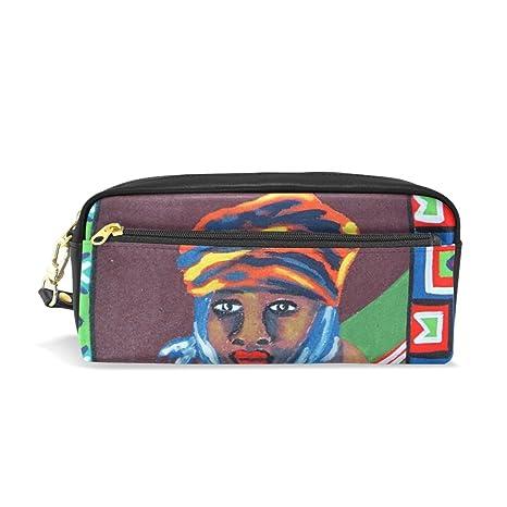 Ahomy - Estuches para lápices de arte étnico africano para ...