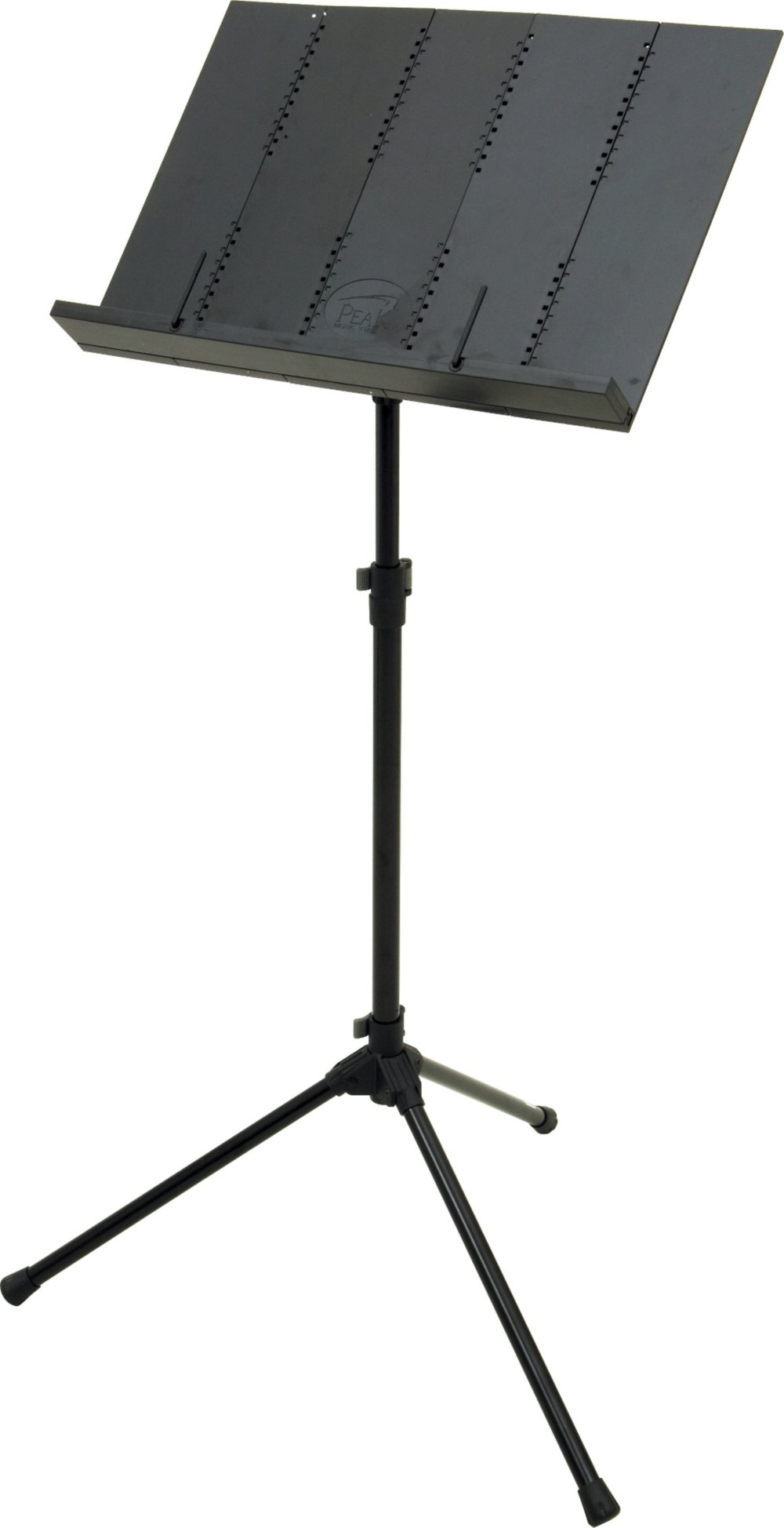 Peak Music Stands Portable Music Stand Black