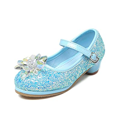 e9d0c734a2b219 YIBLBOX Prinzessin Schuhe Mädchen Ballerina Schuhe Pailletten Festlich für Kinder  Kristall Schuhe  Amazon.de  Schuhe   Handtaschen