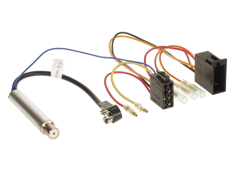 JVC KD-X451DBT DAB Bluetooth MP3 USB Autoradio f/ür Audi A4 B5 bis 99 A6 C4 bis 97 A8 D2 bis 99