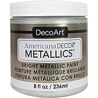 Decoart Ameri Deco MTLC Americana Decor Metallics 8oz Pearl