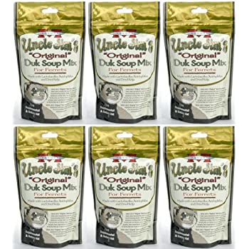 "Uncle Jim's ""Original"" Duk Soup Mix for Ferrets 1.69Lb (6 x 4.5oz)"