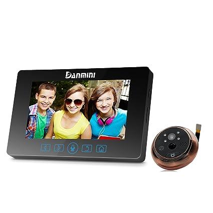meiteai 4.3 pulgadas LCD digital cámara mirilla visor timbre puerta ojo grabación de vídeo profesional de
