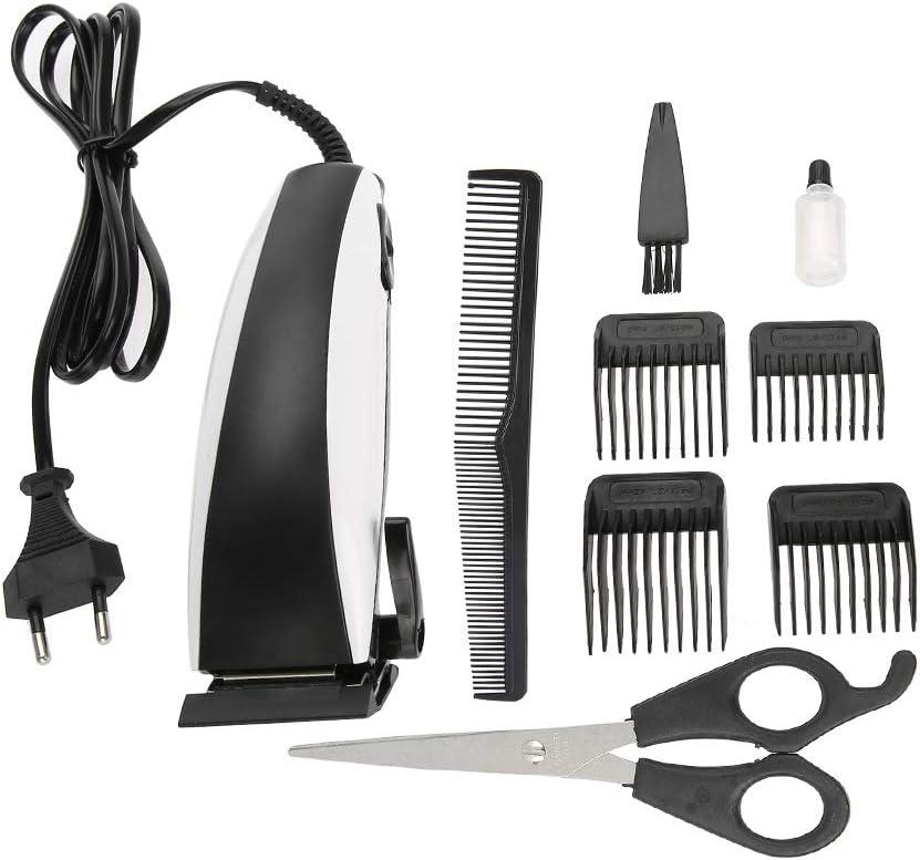 Cortadora de cabello eléctrica profesional DC Clipper Barbero ajustable Corte de pelo Máquina de afeitar Diseño ultra silencioso