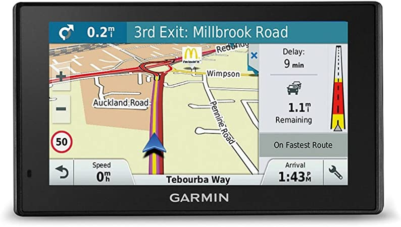 Garmin DriveSmart 51 Western EU LMT-S - Navegador GPS con mapas de por Vida y tráfico vía móvil (Pantalla de 5