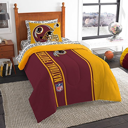 Northwest NFL Washington Redskins Soft & Cozy Twin 5 Piece 64