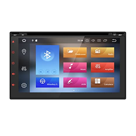 Amazon.com: 7 Inch Android 8.0 Octa Core 4G RAM 32G ROM HD Digital on 9.2 speaker placement diagram, 9.2 surround sound diagram, home theater setup diagram, the 5 channels of distribution diagram, system interface diagram, telecommunications network diagram,