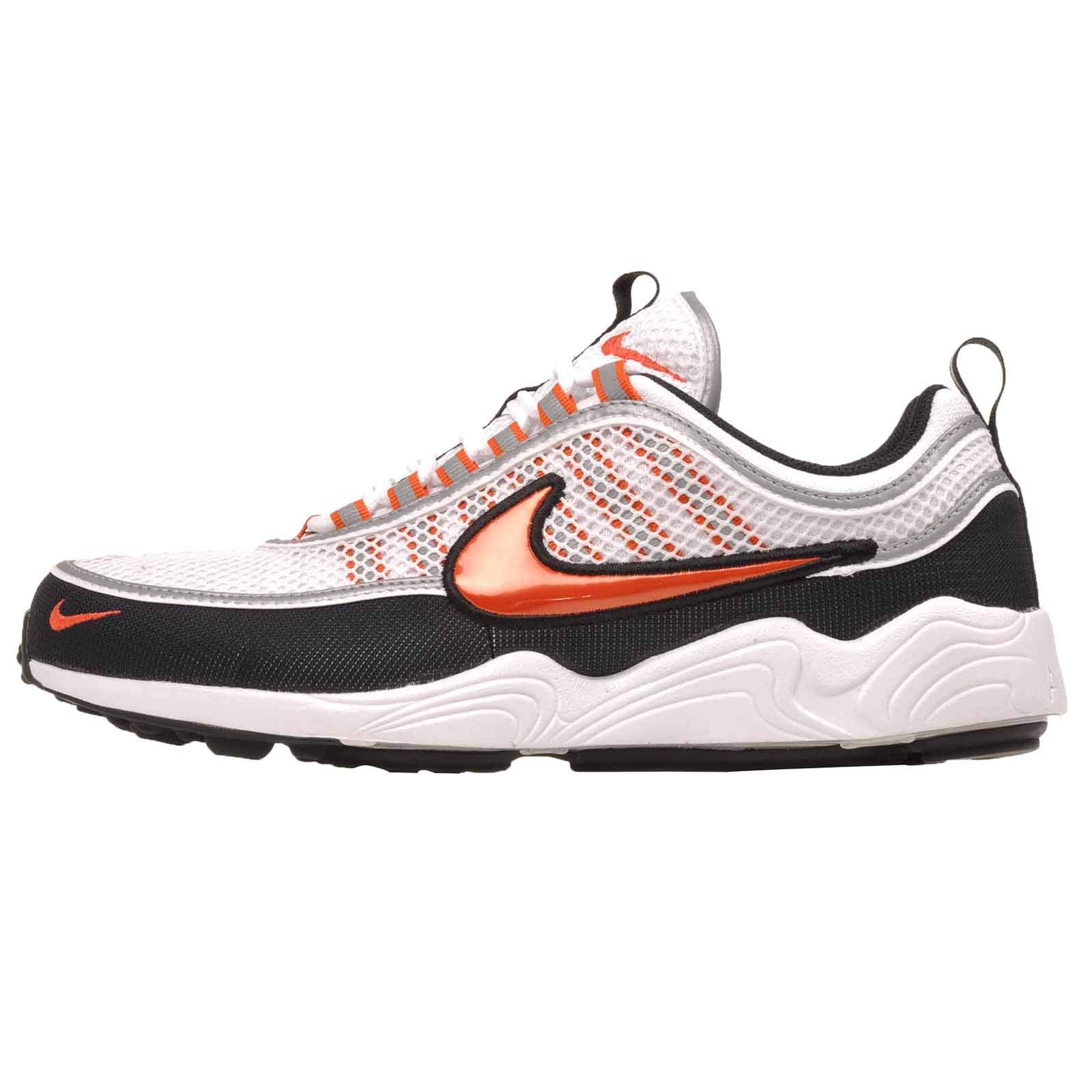 f78af53d2f568 Nike Air Zoom Spiridon '16 Men's Running Shoes 926955 106 (9.5 D(M) US)  White-Black-Orange