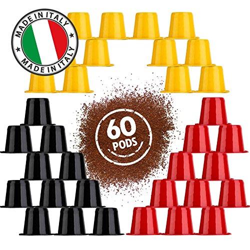 Coffessimo Espresso Coffee Pods for Nespresso Capsules Ma...