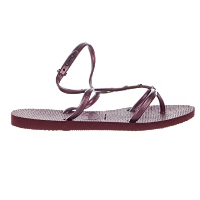 88bd0d3c44c2f Havaianas Women s Allure Maxi Flip-Flops Grape Wine Sandal